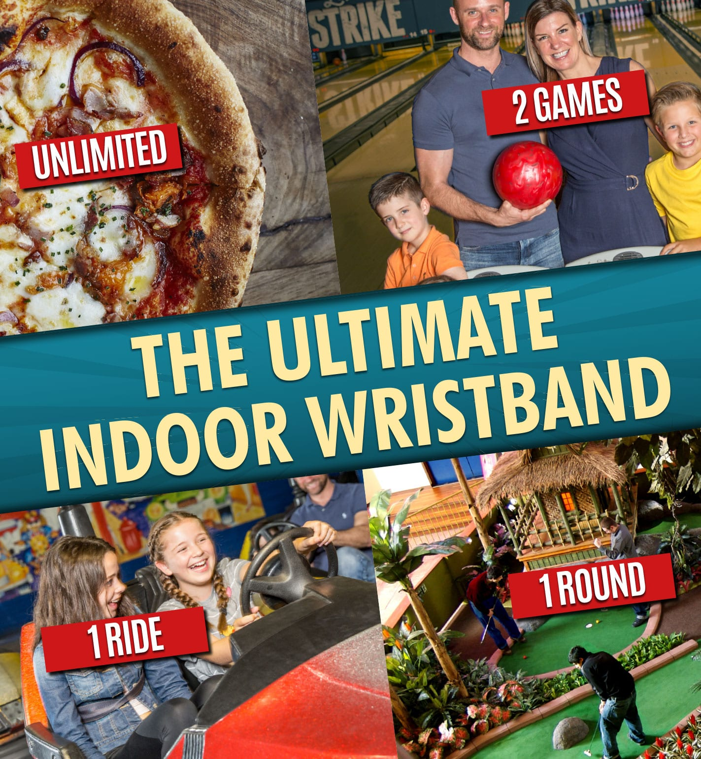 Ultimate Indoor Wristband