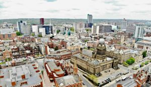 Arial Photo of Leeds by Benjamin Elliott on Unsplash