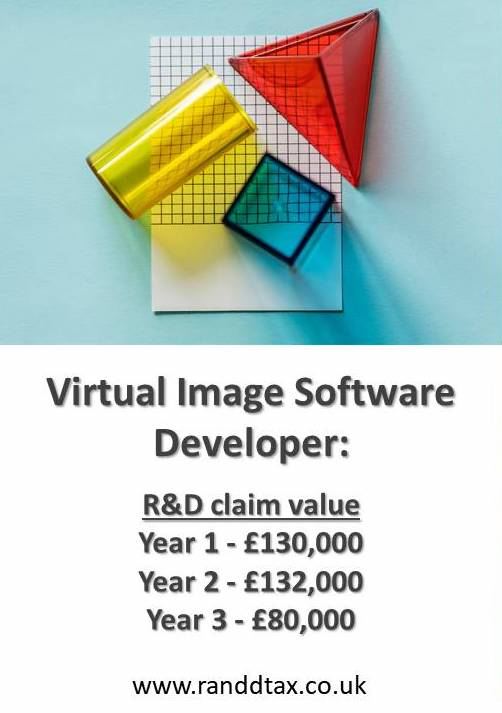 case study Image software R&D tax credit claim