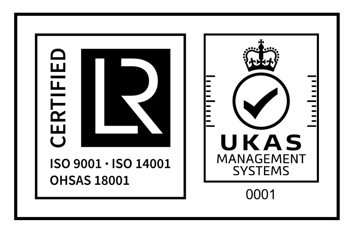 OHSAS18001 (Occupational Health and Safety Assessment), ISO9001 (Quality Management), ISO14001 (Environmental Management)