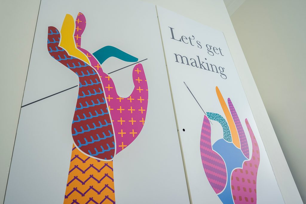 Makers Space at the Great Tapestry of Scotland