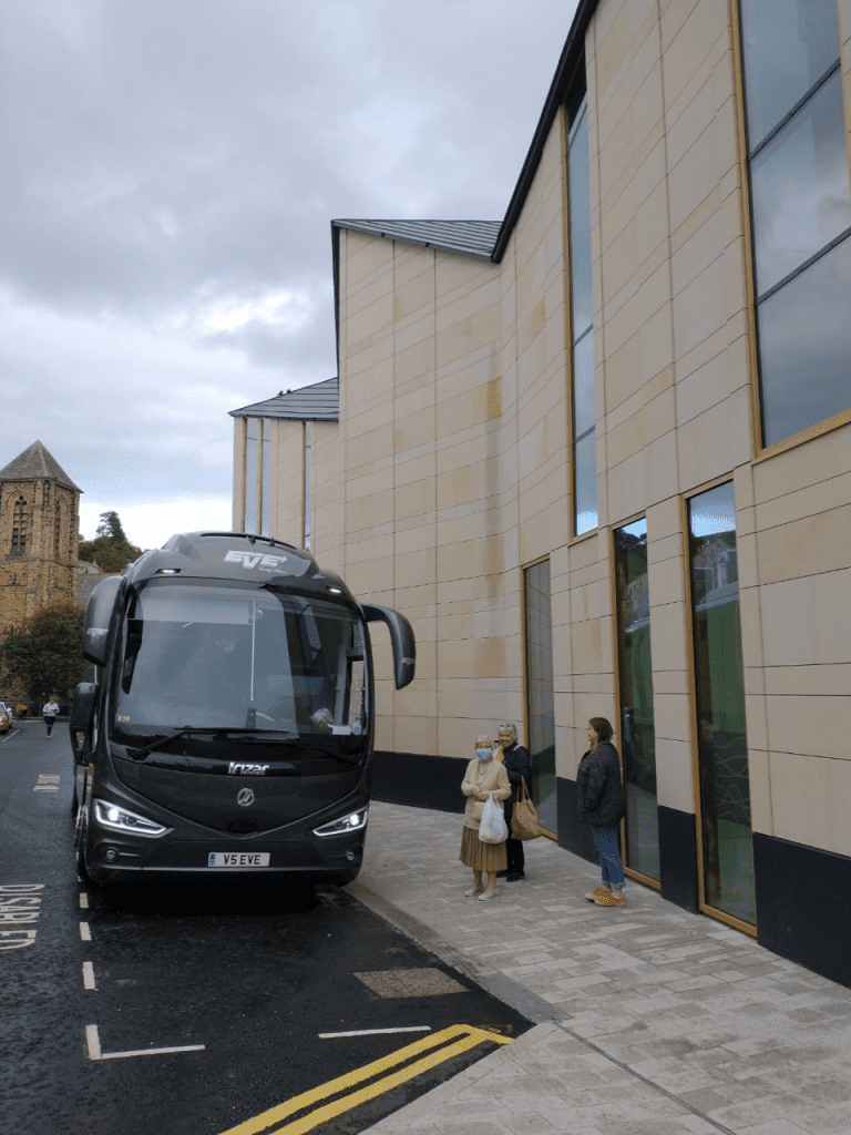 1st coach at The Great Tapestry of Scotland